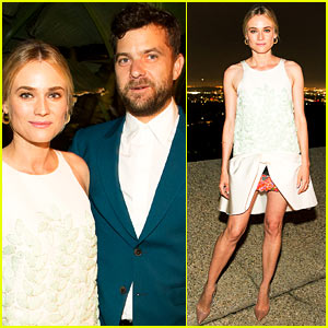 Diane Kruger & Joshua Jackson Are Picture Perfect at MyTheresa.com Announcement Dinner!