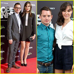 Elijah Wood & Sasha Grey Bring 'Open Windows' to Madrid!