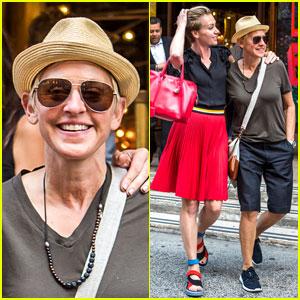 Portia de Rossi new york i love you