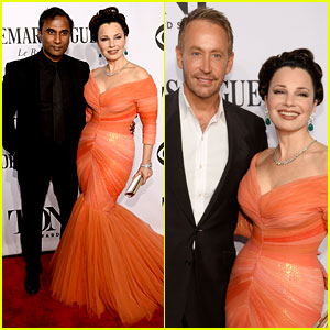 Fran Drescher Attends Tony Awards 2014 with Both Her Ex-Husband & New Boyfriend!