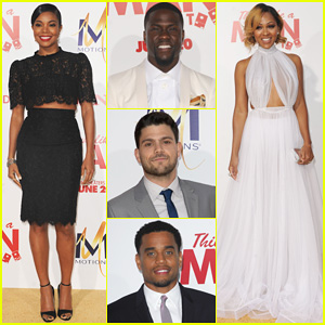Gabrielle Union & Meagan Good Heat Up the 'Think Like A Man Too' Hollywood Premiere!