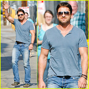 Gerard Butler Will Teach Jimmy Kimmel 'How to Train a Dragon' in Hollywood!