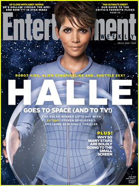 Halle Berry Goes to Space on 'Entertainment Weekly' Cover!