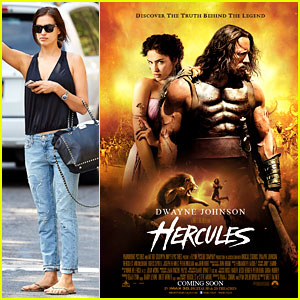 Irina Shayk Brings Her Sex Appeal to 'Hercules' Movie Poster!