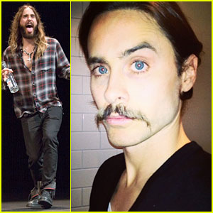 Jared Leto Didn't Shave His Beard Into a Pornstache