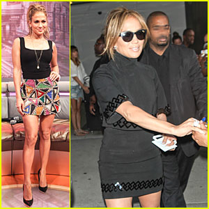 Jennifer Lopez Says She's Been Single For a Couple of Months!