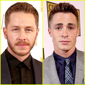 Josh Dallas & Colton Haynes Are Heartthrobs at Critics' Choice TV Awards 2014!