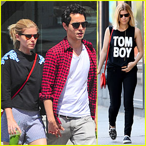 Kate Mara & Max Minghella Can't Get Enough of Each Other in NYC!