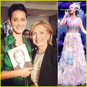 Katy Perry Offers to Write Hillary Clinton's Theme Song, Gets Response!