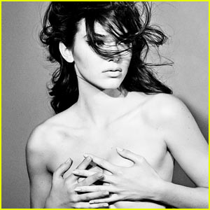 Kendall Jenner Covers Up Her Bare Breasts for Topless 'Interview' Feature
