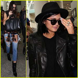 Kendall & Kylie Jenner Get Surrounded By Fans After Landing in Toronto!