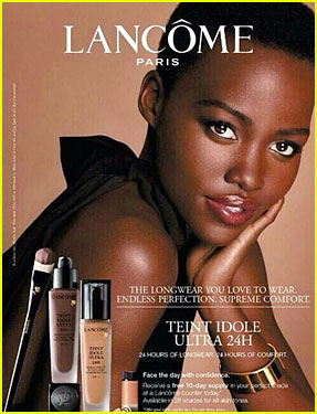 Lupita Nyong'o Is Completely Flawless For Lancome Ad!