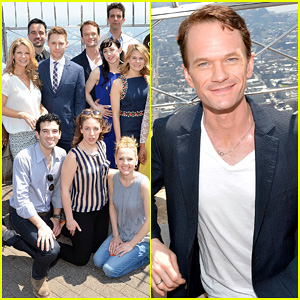 Neil Patrick Harris Joins Tony Award Nominees at The Empire State Building!