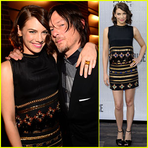 Norman Reedus & Lauren Cohan Rep 'Walking Dead' at Guys' Choice Awards 2014