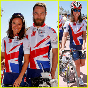 Pippa Middleton & Brother James Kick Off Race Across America