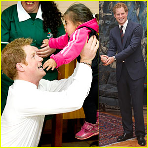 Prince Harry's Interaction With a Chilean Toddler Is Beautiful to See!