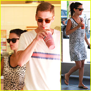 Rachel Bilson & Hayden Christensen Know How to Stay Healthy With Smoothies!