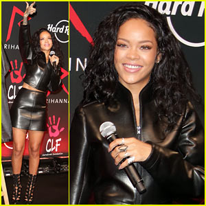 Rihanna Launches Limited Edition T-Shirt & Partnership with Hard Rock Cafe!