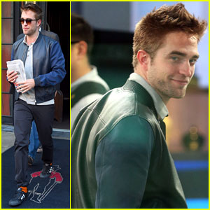Robert Pattinson Jokes About Side Career as a Male Stripper!