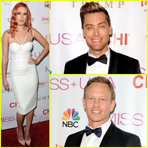 Rumer Willis is Lovely in White for Miss USA Competition 2014!
