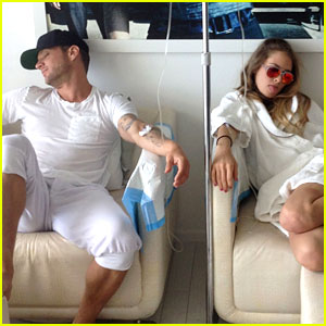 Ryan Phillippe & Girlfriend Paulina Slagter Fuel Up on IV Nutrition Service Together