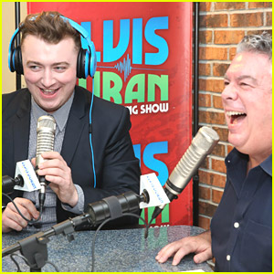 Sam Smith Drops By Elvis Duran Show For 'Lonely Hour' Promo