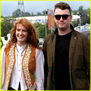 Sam Smith & Florence Welch Hang Out After She Covers 'Stay With Me' - Watch Now!