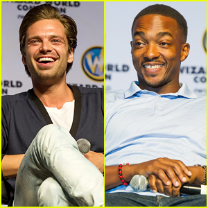 Sebastian Stan & Anthony Mackie Bring 'Captain America' to Philadelphia Comic Con 2014