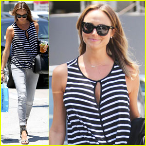 Stacy Keibler Reveals Her Go-To Pregnancy Snack!