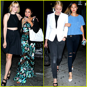 'Sucker Punch' Reunion! Vanessa Hudgens, Jena Malone, & Their Co-Stars Meet Up for Dinner!
