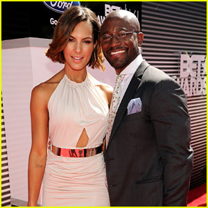 Taye Diggs Brings New Girlfriend Amanza Smith Brown to BET Aw