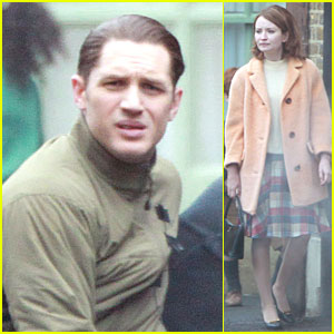 Tom Hardy Injures His Ankle During 'Legend' Filming