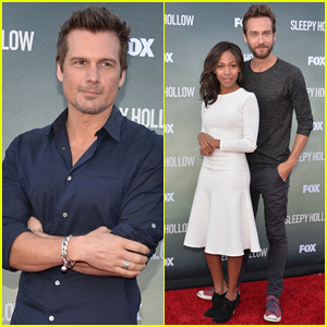 Tom Mison & Nicole Beharie Join Len Wiseman for 'Sleepy Hollow' Special Hollywood Screening!