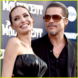 Angelina Jolie & Brad Pitt Wrote Love Notes to Each Other Whil