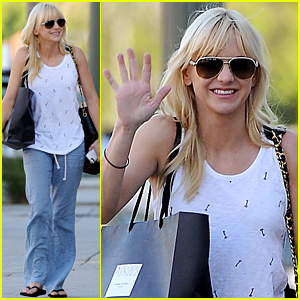 Anna Faris Feels 'Lucky to Have Birthed the Child of Star Lord'