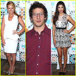Becki Newton Joins Andy Samberg at Fox's Summer TCA All-Star Party!