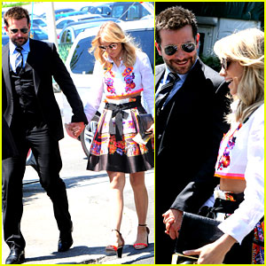 Bradley Cooper & Suki Waterhouse Get Lovey Dovey at Wimbledon!