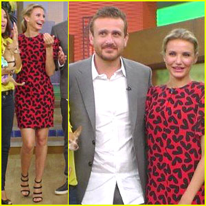 Cameron Diaz & Jason Segel Bicker About Their 'Sex Tape' - Watch Clip Now!