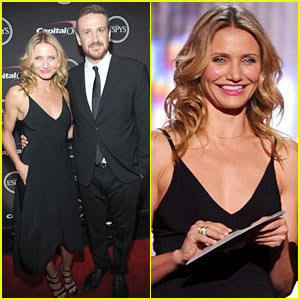 Cameron Diaz & Jason Segel Rep 'Sex Tape' at ESPYs 2014!