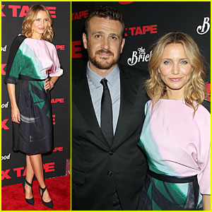Cameron Diaz & Jason Segel Let NYC View Their 'Sex Tape'