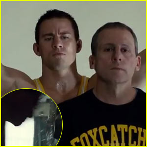 Channing Tatum Breaks a Glass Mirror on His Face in 'Foxcatcher' Trailer - Watch Now!