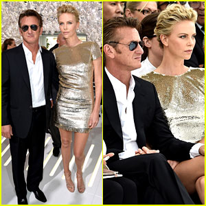 Charlize Theron & Sean Penn Make One Hot Couple at Christian Dior Fashion Show!