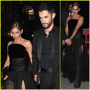 Cheryl Cole & New Husband Jean-Bernard Fernandez-Versini Match in Black at Wedding Party