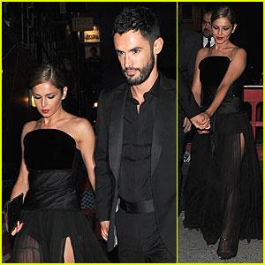 Cheryl Cole & New Husband Jean-Bernard Fernandez-Versini Match in Black at Wedding Party