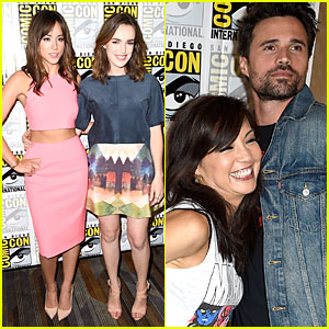 Chloe Bennet Shows Off Midriff at 'Agents of S.H.I.E.L.D.' Comic-Con Panel