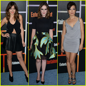 'Agents' Chloe Bennet & Elizabeth Henstridge Hit Up EW's Comic-Con Bash