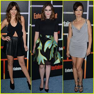 'Agents' Chloe Bennet & Elizabeth Henstridge Hit Up EW's Comic-Con Bash
