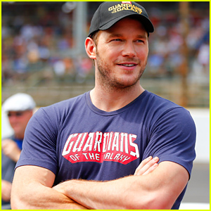 Chris Pratt Looks So Muscular While Getting First Hand Car Racing Experience!