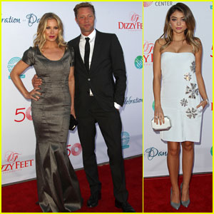 Christina Applegate & Sarah Hyland Get All Dressed Up for Dizzy Feet!