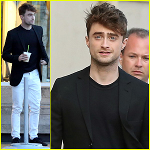 Watch Daniel Radcliffe Cut a Stranger's Hair on the Street! (Video)